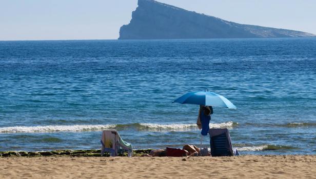 Imagen de archivo de la playa de Levante de Benidorm