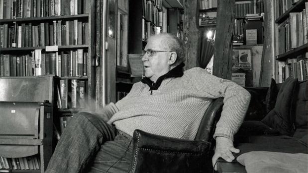 El intelectual gallego, en una imagen de archivo de ABC