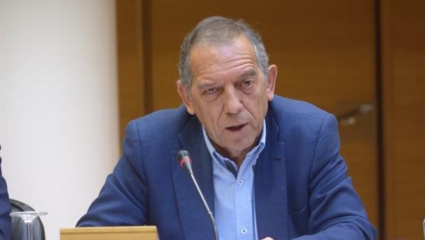 Miguel Soler, durante su comparecencia en la comisión el Ciegsa