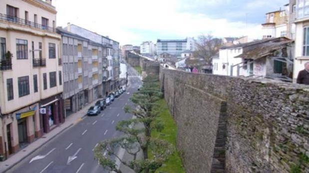 Imagen de archivo de la ciudad de Lugo