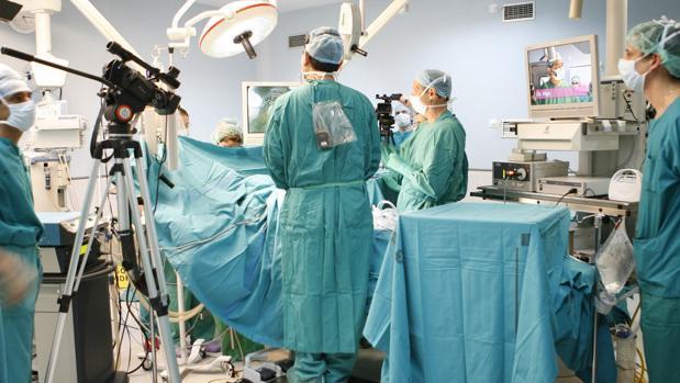 Quirófano inteligente, en el Hospital de Getafe