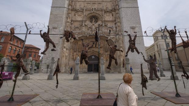 Instalación ubicada en la Plaza de Santa Pablo de Valladolid