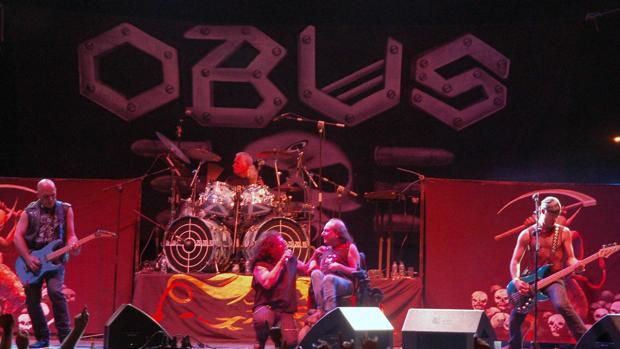 Imagen de un concierto de Obús