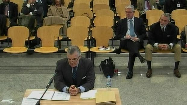 El extesorero del PP, Luis Bárcenas, declarando en la Audiencia Nacional Luis Bárcenas