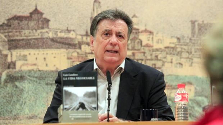 Luis Landero: «Toda novela es conflicto e insatisfacción»