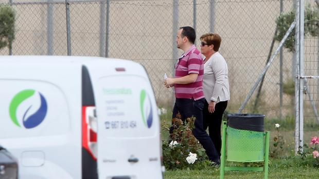 Imagen de Milagrosa Martínez tomada este jueves a su llegada a la prisión de Villena