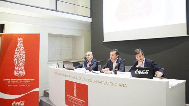 Presentación del estudio de impacto de Coca-Cola en la Comunidad Valenciana