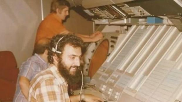 Los controladores canarios Tomás Vidriales, Ramón Arcas y Miguel Torrens, formados en los Setenta, en 1981