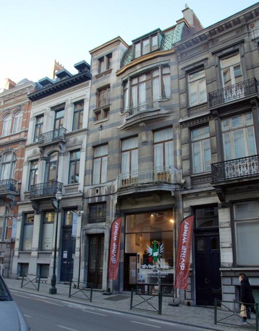 La Maison Frison, en Bruselas, obra del arquitecto modernista Victor Horta