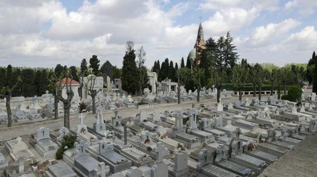 Vista general del cementerio de La Almudena