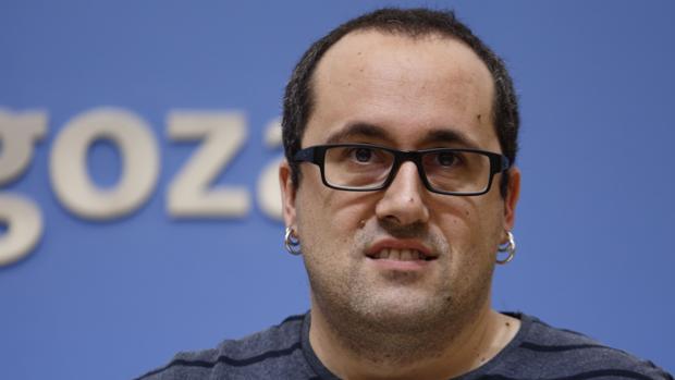 Alberto Cubero, teniente de alcalde de Zaragoza por la coalición ZEC (Podemos-IU)