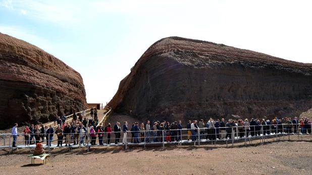 El «Cerro Gordo» se puede visitar miércoles, jueves, sábados, domingos y festivos. Es gratis y hay visita guiada