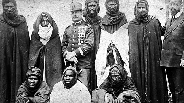 Bens y saharauis en la capital grancanaria