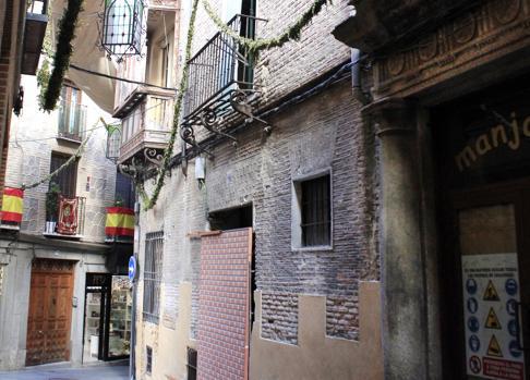 Calle Sillería, 10, donde se levantará un hotel de cuatro estrellas