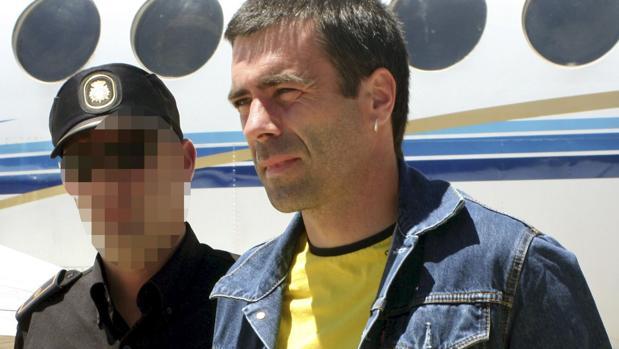 Imagen de su traslado a España en 2010