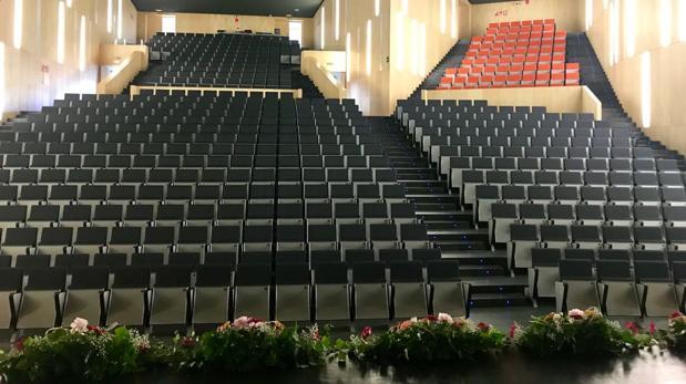 Sala sinfónica del Auditori Teulada Moraira