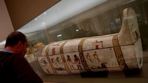 La exposición «Músicas en la antigüedad», que se exhibe en el Caixaforum