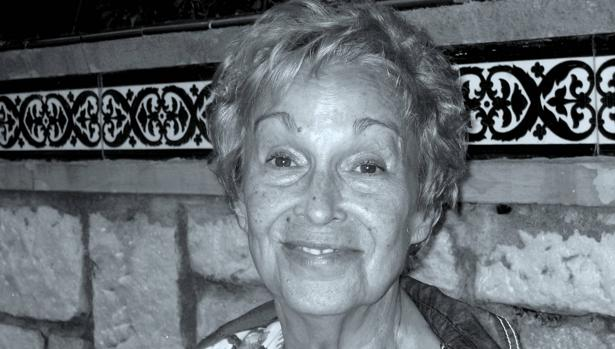 Elvira Daudet en septiembre de 2012
