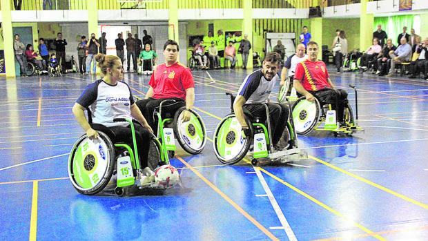 El fútbol en silla de ruedas ya es posible