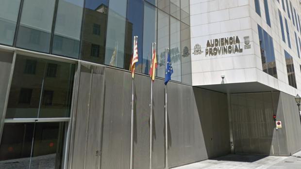 Fachada de la Audiencia Provincial de Zaragoza