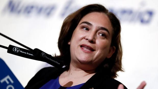 La alcaldesa, esta semana en un acto en Madrid