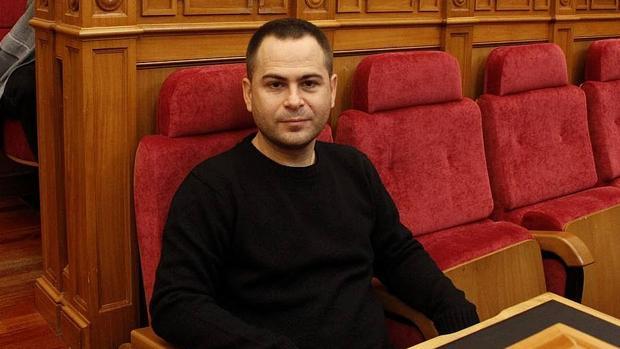 David Llorente, diputado de Podemos