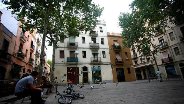 El bebé ha sido encontrado en el barrio de Gracia de Barcelona