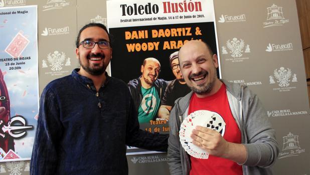 Diego Mejías y Woody Aragón presentan el Festival Internacional de Magia «Toledo Ilusión 2018»