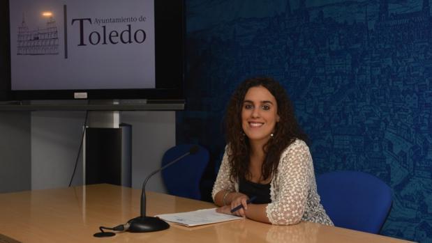 Inés Sandoval, durante la rueda de prensa