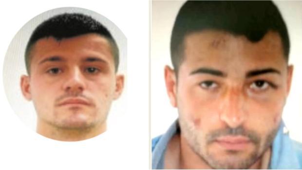 A la izquierda, Javier C. P. «El primo del Niño Juan»; a la derecha, «El Niño Juan»
