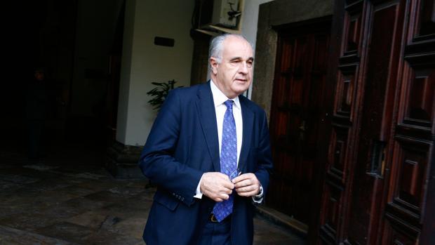 El exconseller Rafael Blasco, en una imagen de archivo durante el juicio por el Caso Cooperación