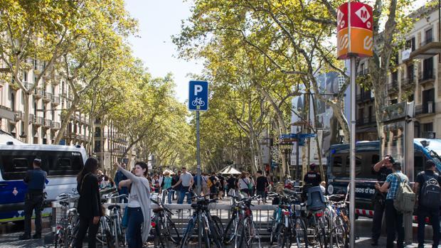 Los atentados de agosto tuvieron lugar en Las Ramblas de Barcelona