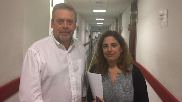 Antonio Gómez Caamaño y Ana Vega Gliemmo, investigadores gallegos que participaron en el estudio