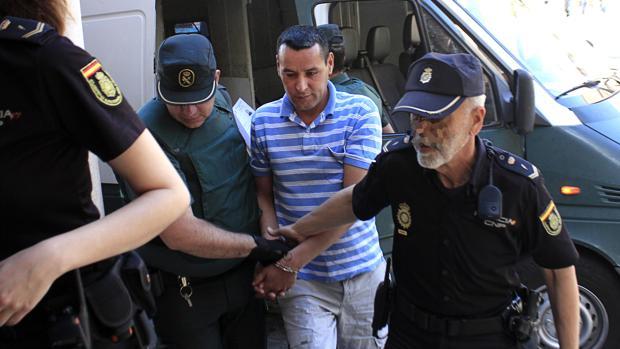 Hachem El Azami llega a la Audiencia Provincial de Toledo este miércoles