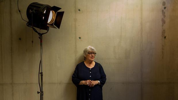 Katinka Faragó, fotografiada en la Filmoteca