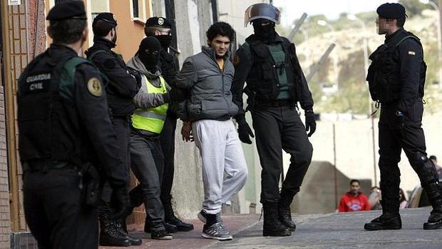 Las Fuerzas de Seguridad detienen a un individuo sospechoso de yihadismo en Melilla