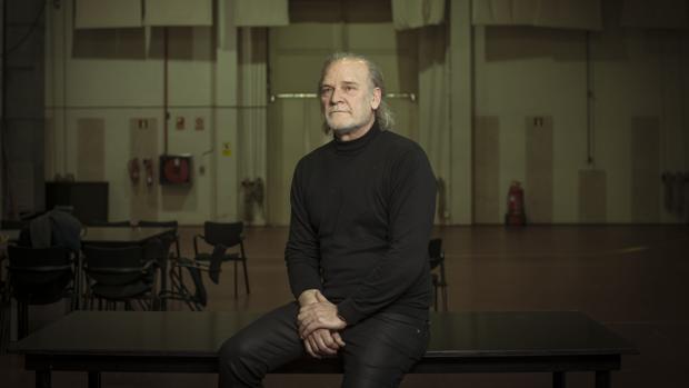 Lluís Homar, en «La maleta de Ana»