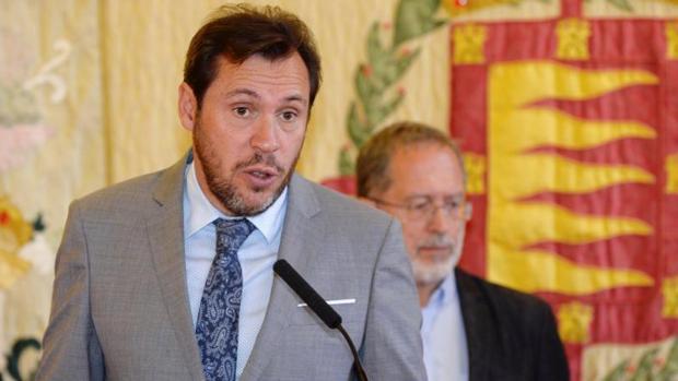 El alcalde de Valladolid, Óscar Puente,