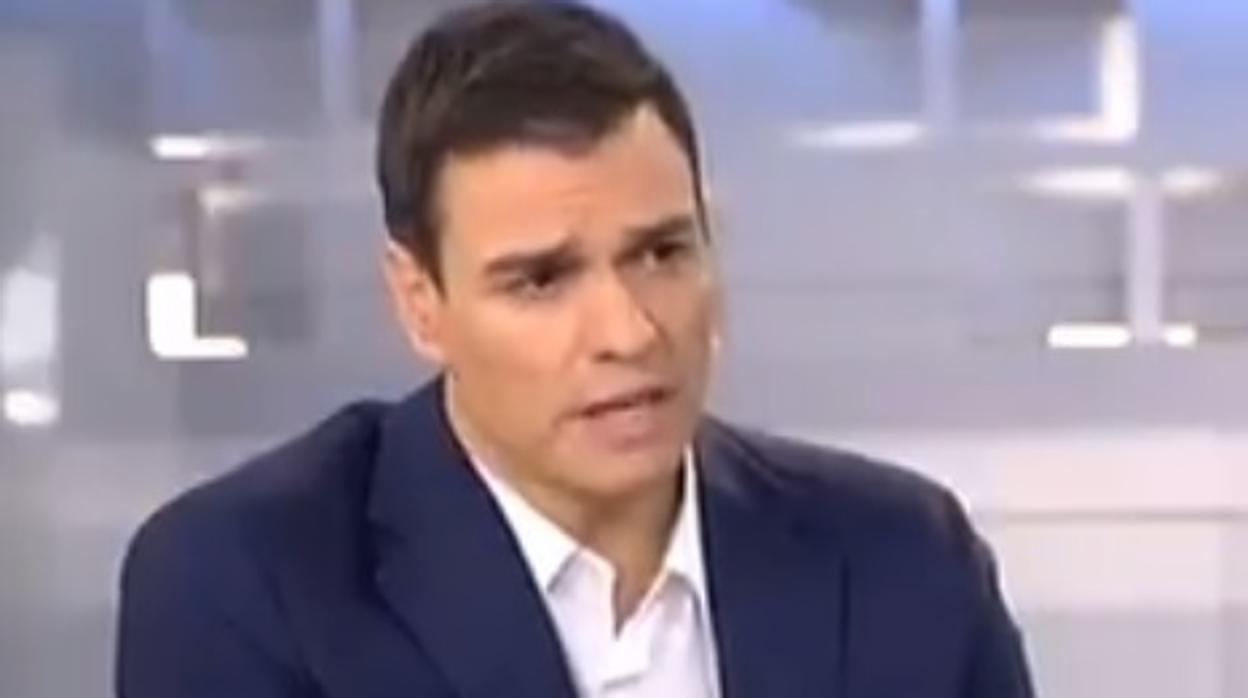 Sánchez, en 2015: «Si alguien en mi partido tiene una sociedad para pagar la mitad de impuestos, está fuera»