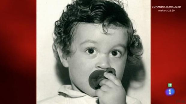 Pepe Rodríguez cuando era niño
