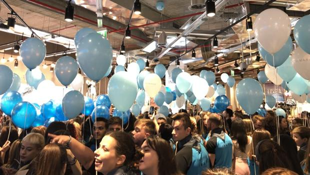 Imagen compartida por Sandra Gómez, la portavoz del Ayuntamiento de Valencia, tras acudir a la inauguración