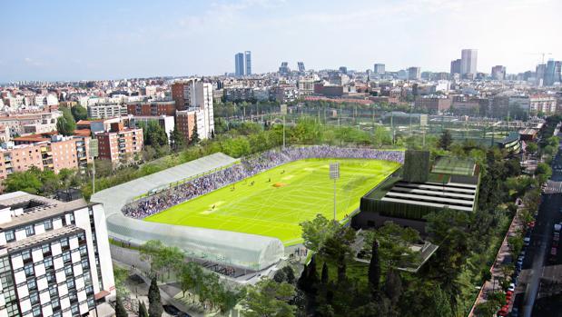 El futuro estadio de Vallehermoso, en Chamberí