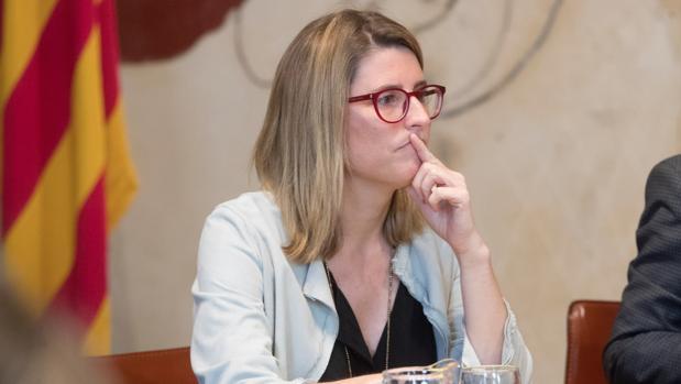 La portavoz del Gobierno Catalán, Elsa Artadi