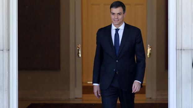 Pedro Sánchez recibe al primer ministro de Irlanda, Leo Varadkar, en Moncloa