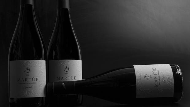 Botellas del vino Martúe Especial 2014