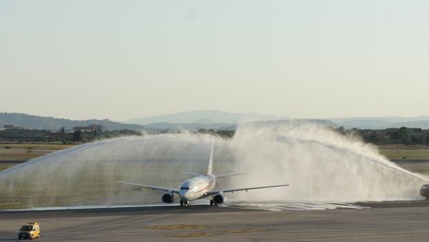 Imagen del vuelo que cubre la ruta entre Valencia y Argel