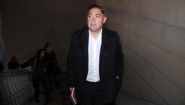 El expresidente de la Diputación de León Marcos Martínez, en una imagen de archivo