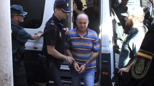 José Miguel Rodríguez, este miércoles, llega a la Audiencia Provincial de Toledo