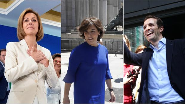El PP se divide entre Santamaría y Cospedal mientras Casado denuncia «juego sucio»