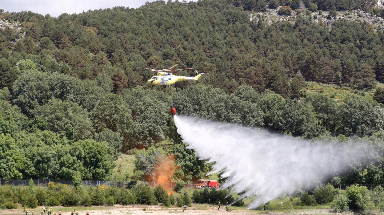 Cerca de 4.800 efectivos luchan este verano contra los incendios